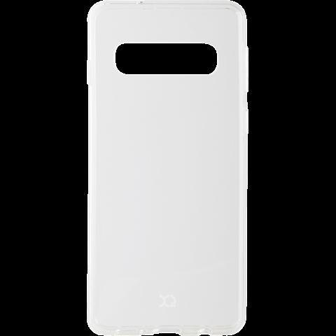 xqisit Flex Case Samsung Galaxy S10 - Transparent 99928894 vorne