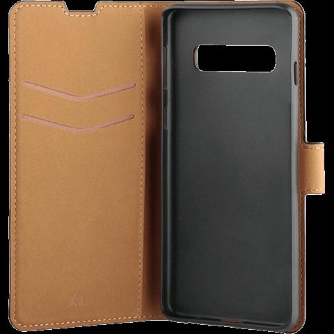 xqisit Slim Wallet Selection Samsung Galaxy S10e - Schwarz 99928919 seitlich