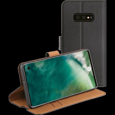 xqisit Slim Wallet Selection Samsung Galaxy S10e - Schwarz 99928919 hinten