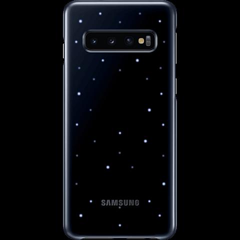 Samsung LED Cover Galaxy S10+ - Schwarz 99929216 vorne