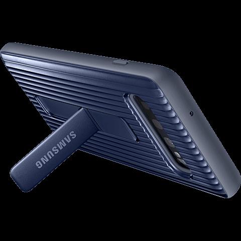 Samsung Protective Standing Cover Galaxy S10 - Schwarz 99929144 hinten