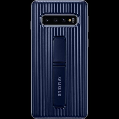 Samsung Protective Standing Cover Galaxy S10 - Schwarz 99929144 vorne