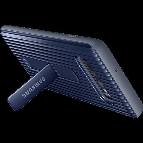 Samsung Protective Standing Cover Galaxy S10+ - Schwarz 99929141 hinten