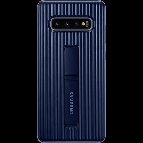 Samsung Protective Standing Cover Galaxy S10+ - Schwarz 99929141 vorne
