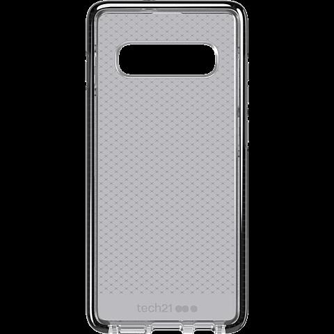 Tech21 Evo Check Hülle Samsung Galaxy S10+ - Schwarz 99928877 vorne