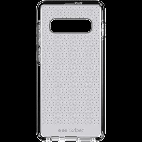 Tech21 Evo Check Hülle Samsung Galaxy S10+ - Schwarz 99928877 hinten