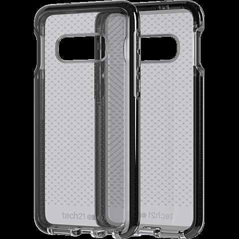 Tech21 Evo Check Hülle Samsung Galaxy S10e - Schwarz 99928881 seitlich