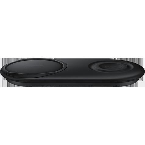 Samsung Wireless Charger Duo Pad - Schwarz 99929182 hero