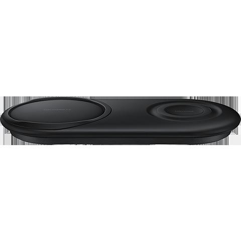 Samsung Wireless Charger Duo Pad - Schwarz 99929182 vorne