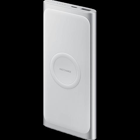 Samsung Induktive Wireless Powerbank - Silber 99929181 hinten