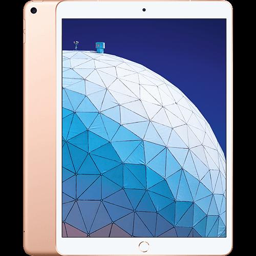 Apple iPad Air WiFi und Cellular Gold Vorne und Hinten