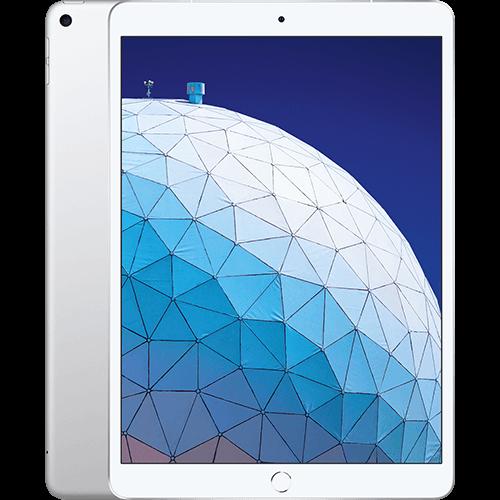 Apple iPad Air WiFi und Cellular Silber Vorne und Hinten