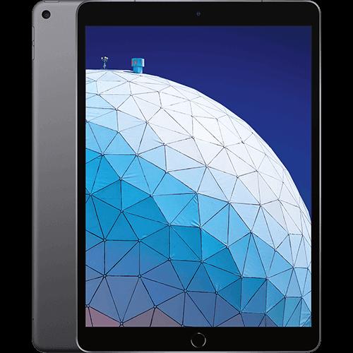 Apple iPad Air WiFi und Cellular Space Grau Vorne und Hinten