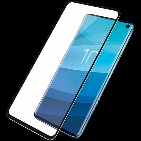 PanzerGlass Display Glas Samsung Galaxy S10e - Schwarz 99929150 vorne