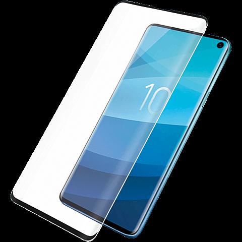 PanzerGlass Display Glas Samsung Galaxy S10 - Schwarz 99929152 vorne