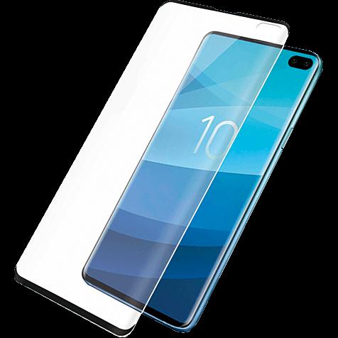PanzerGlass Display Glas Samsung Galaxy S10 Plus - Schwarz 99929153 hero
