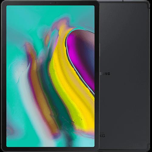 Samsung Galaxy Tab S5e LTE Schwarz Vorne und Hinten