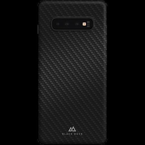 BlackRock UltraThin Iced Carbon Samsung Galaxy S10 - Schwarz 99928913 vorne
