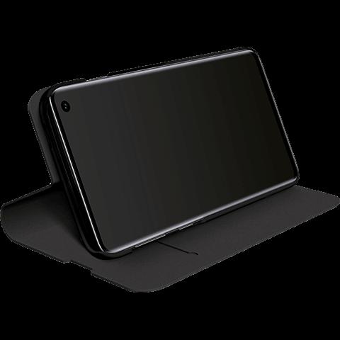 BlackRock Booklet Flex Carbon Samsung Galaxy S10 - Schwarz 99928914 hinten