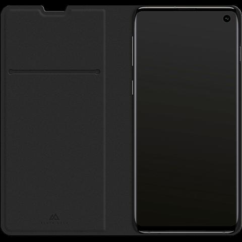 BlackRock Booklet Flex Carbon Samsung Galaxy S10 - Schwarz 99928914 seitlich