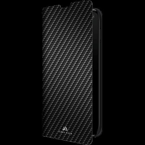 BlackRock Booklet Flex Carbon Samsung Galaxy S10 - Schwarz 99928914 vorne