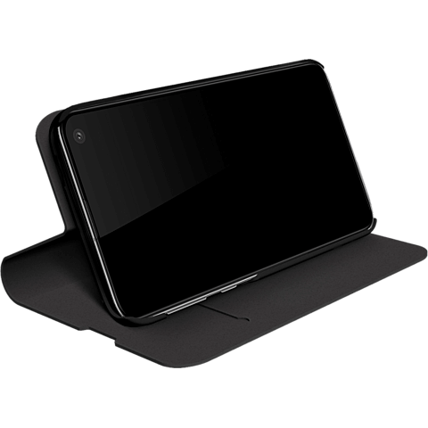 BlackRock Booklet Flex Carbon Samsung Galaxy S10e - Schwarz 99928918 hinten