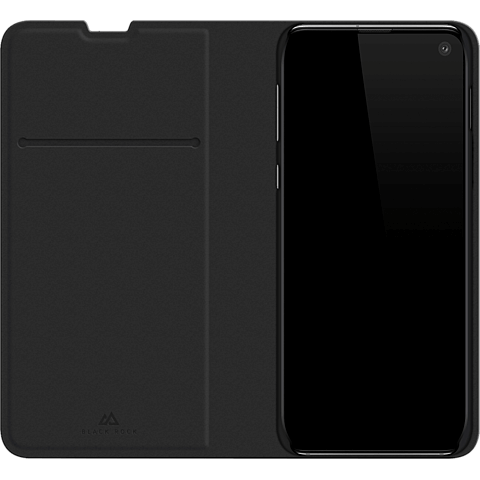 BlackRock Booklet Flex Carbon Samsung Galaxy S10e - Schwarz 99928918 seitlich
