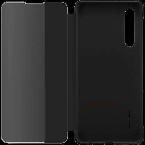 HUAWEI Smart View Flip Cover P30 - Schwarz 99929249 seitlich