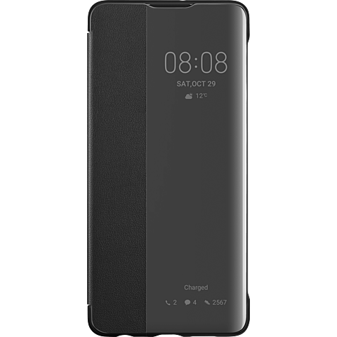 HUAWEI Smart View Flip Cover P30 - Schwarz 99929249 vorne