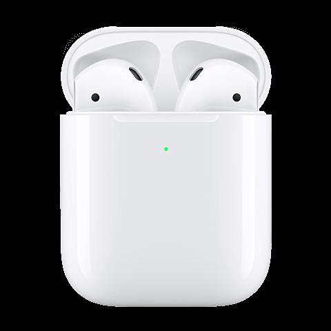 Apple AirPods mit kabellosem Ladecase - Weiß 99929270 vorne