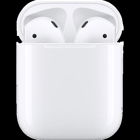 Apple AirPods mit Ladecase - Weiß 99929271 seitlich