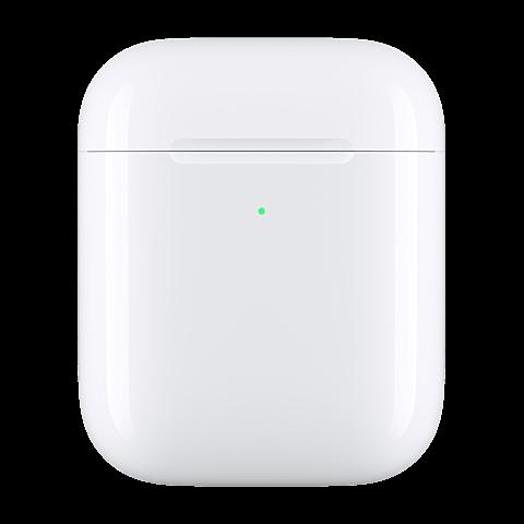 Apple Kabelloses Ladecase für AirPods - Weiß 99929272 vorne