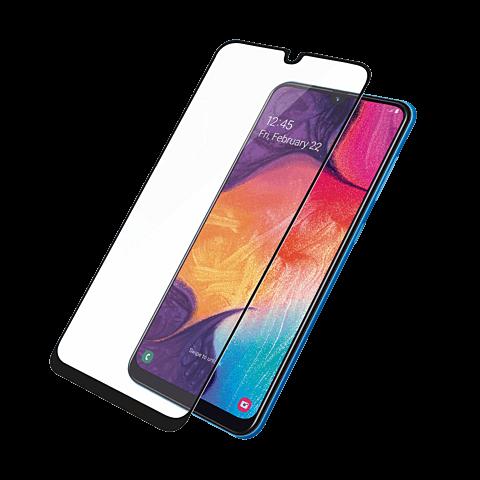 PanzerGlass Display Glas Samsung Galaxy A50 - Schwarz 99929158 vorne