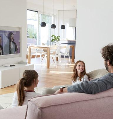 Telekom Geräte im Mesh Netzwerk: SmartTV und WLAN