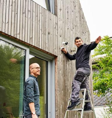 Smart Home im Mesh Netzwerk: Einbruchsysteme