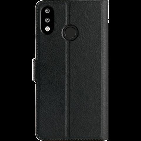 xqisit Slim Wallet Selection HUAWEI P30 lite - Schwarz 99929165 hinten