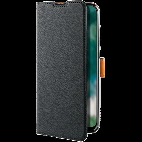 xqisit Slim Wallet Selection HUAWEI P30 lite - Schwarz 99929165 seitlich