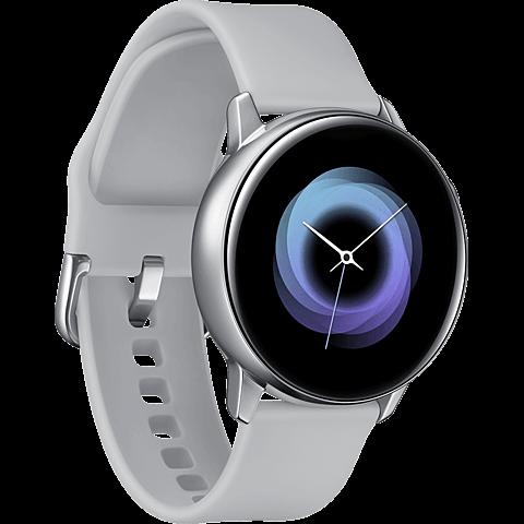 Samsung Galaxy Watch Active - Silber 99929276 seitlich