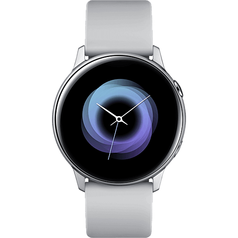 Samsung Galaxy Watch Active - Silber 99929276 vorne