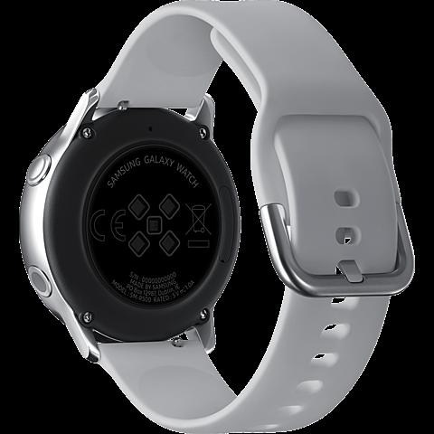 Samsung Galaxy Watch Active - Silber 99929276 hinten
