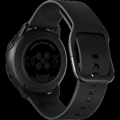 Samsung Galaxy Watch Active - Schwarz 99929275 hinten