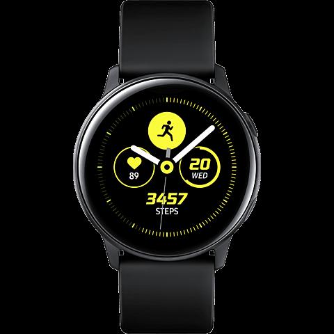 Samsung Galaxy Watch Active - Schwarz 99929275 vorne