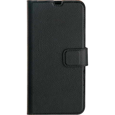 xqisit Slim Wallet Selection Samsung Galaxy A20e - Schwarz 99929163 vorne