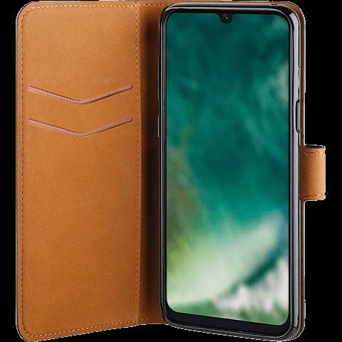 xqisit Slim Wallet Selection Samsung Galaxy A20e - Schwarz 99929163 seitlich