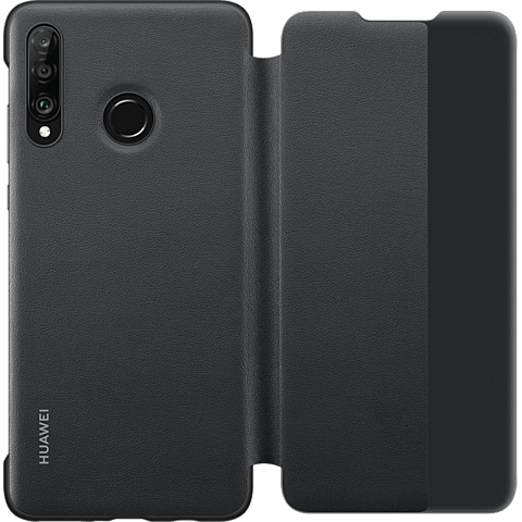HUAWEI Smart View Flip Cover P30 lite - Schwarz 99929248 hinten