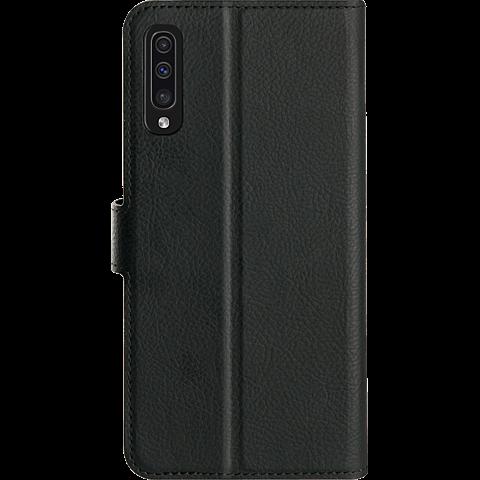 xqisit Slim Wallet Selection Samsung Galaxy A50 - Schwarz 99929161 hinten