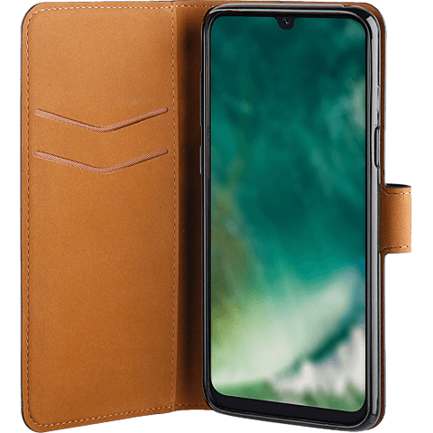 xqisit Slim Wallet Selection Samsung Galaxy A50 - Schwarz 99929161 seitlich