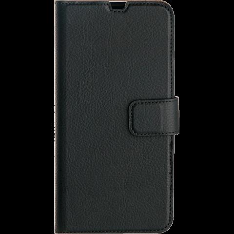 xqisit Slim Wallet Selection Samsung Galaxy A50 - Schwarz 99929161 vorne