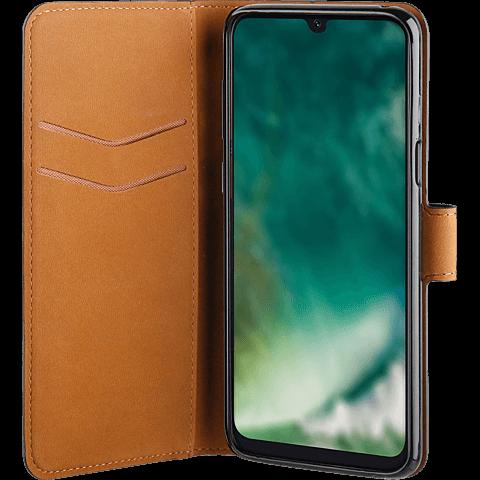 xqisit Slim Wallet Selection Samsung Galaxy A40 - Schwarz 99929162 seitlich
