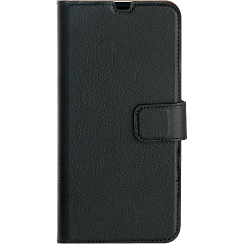 xqisit Slim Wallet Selection Samsung Galaxy A40 - Schwarz 99929162 vorne